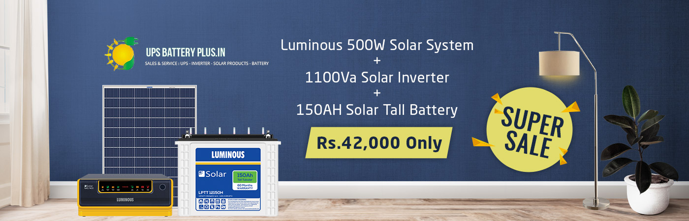 solar home lighting system in chennai