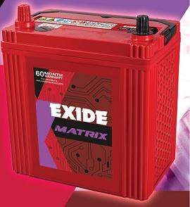 Exide Matrix Din100
