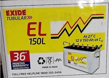 exide - 150 ah battery