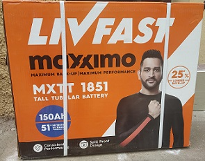livfast - 150 ah battery